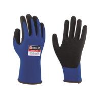 Monteurshandschoen blauw mt8 (M) Glove-On Touch Pr