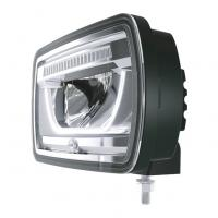 Verstraler Jumbo Full LED zwart Ref 25 12/24V staa