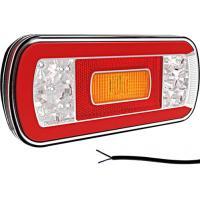 LED achterlicht zonder kentekenverl. 12/36V 1m kabel
